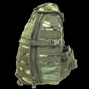 Рюкзак AVI-Outdoor Seiland green  smoke(Регулируемый плечевой ремень на правое и левое плечо
