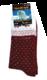 "Носки NordKapp арт. 515-R Red Коллекция ""Норвежские звезды"""