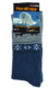 "Носки NordKapp арт. 515-G Indigo Коллекция ""Норвежские звезды"""