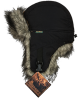 Шапка-ушанка NordKapp Malselv Canadian Wolf black арт. 534